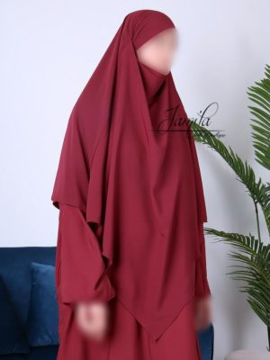 Khimar long Jamila Bordeaux